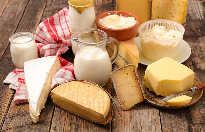 Metabolized Dairy Products Are Acid Forming