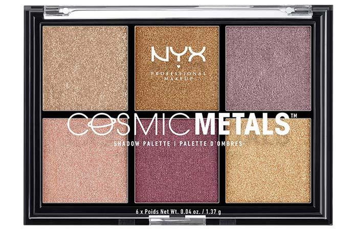NYX Cosmic Metals Eyeshadow Palette