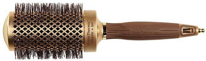 Olivia Garden NanoThermic Ceramic + Ion Round Thermal Hair Brush NT-54