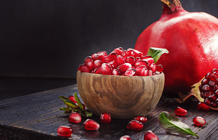 Pomegranate for High BP in Hindi
