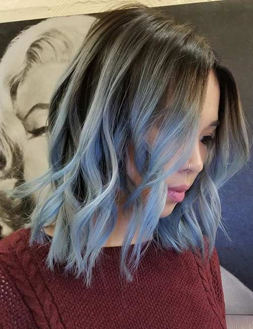 Powder Blue Ombre