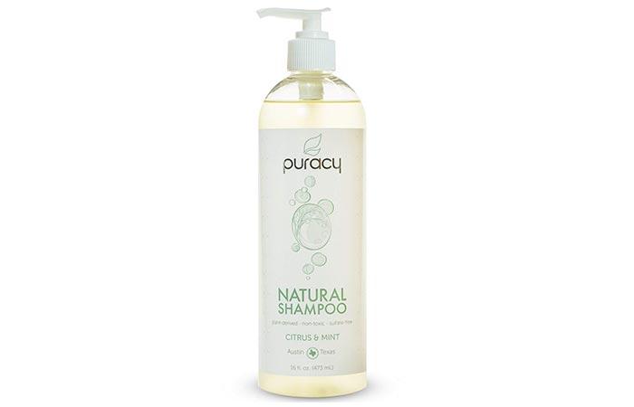Puracy Citrus & Mint Natural Shampoo