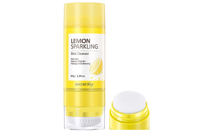 Secret Key Lemon Sparkling Stick Cleanser