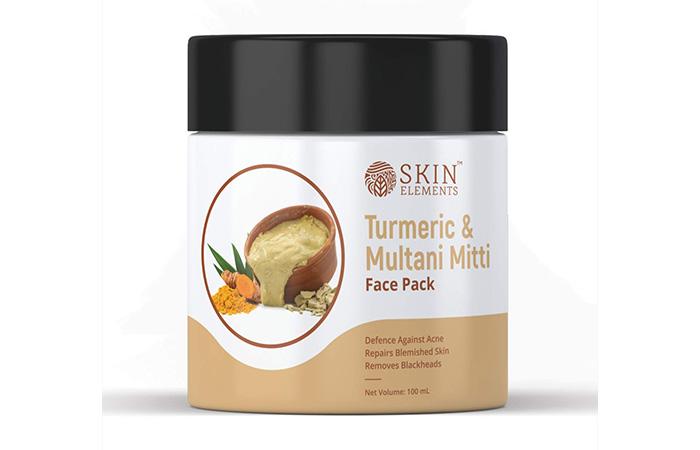 Skin Elements Turmeric and Multani Mitti Face Mask