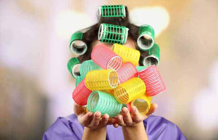 Step 1 – Choose The Right Size Hair Rollers