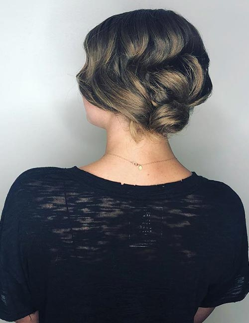 The Classic Low Bun
