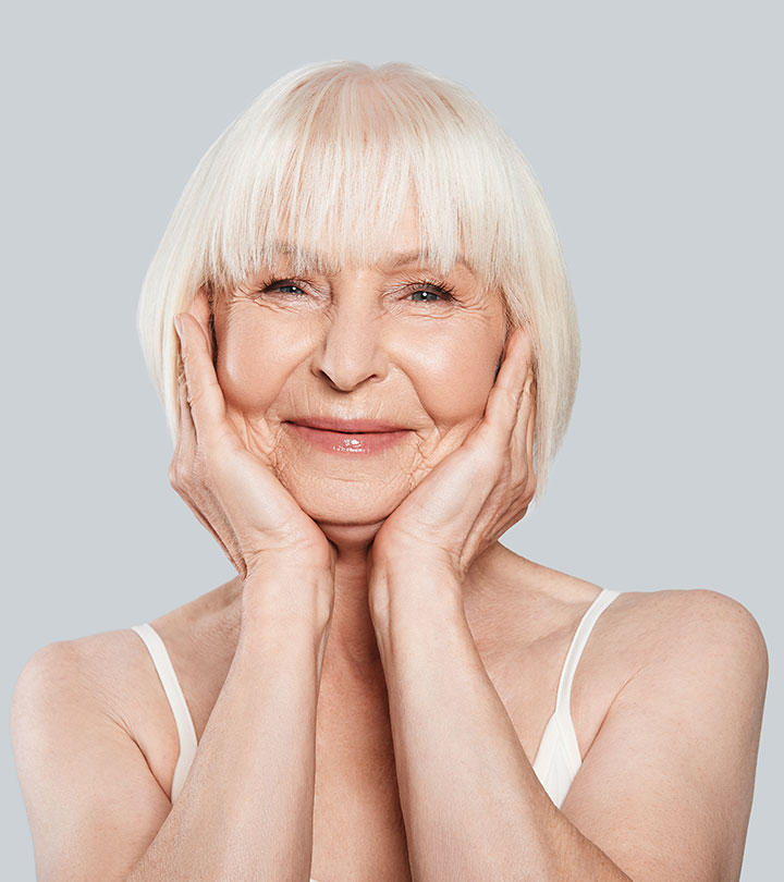 The Secret To Having Good Skin When You're Older