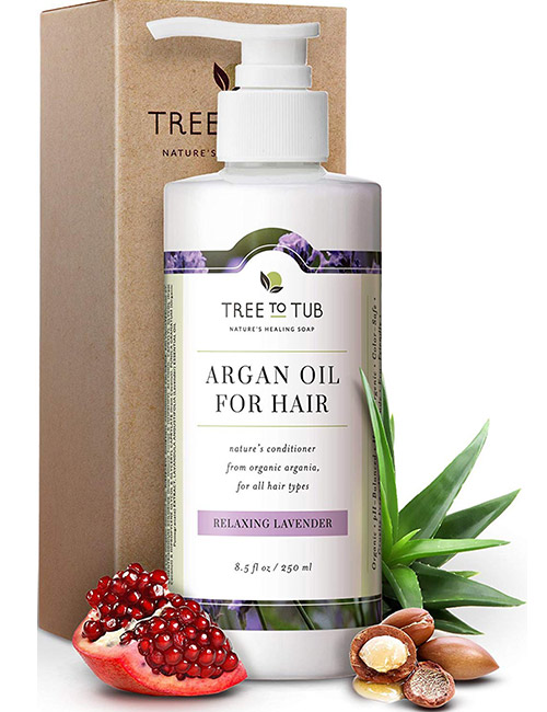 Tree To Tub Relaxing Lavender Argan Oil Conditioner