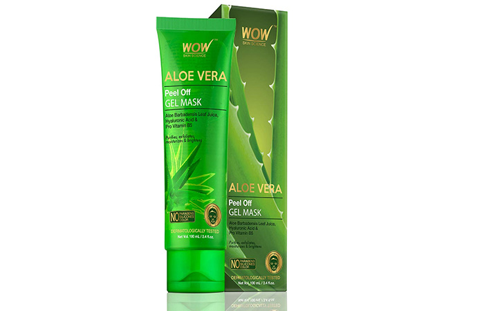 WOW Skin Science Aloe Vera Gel Mask
