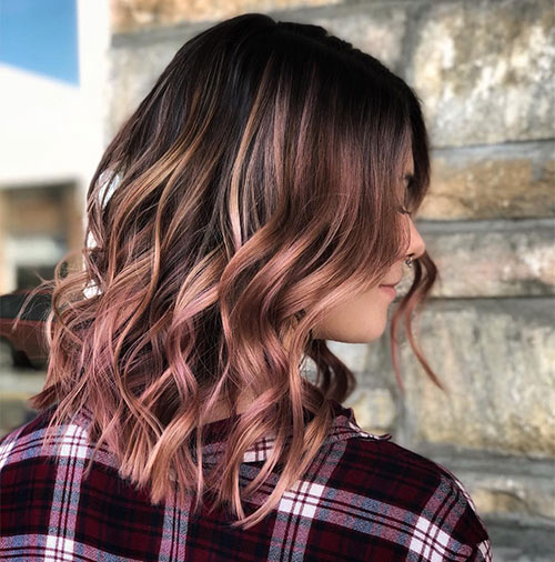 Warm-Toned Rose Brown