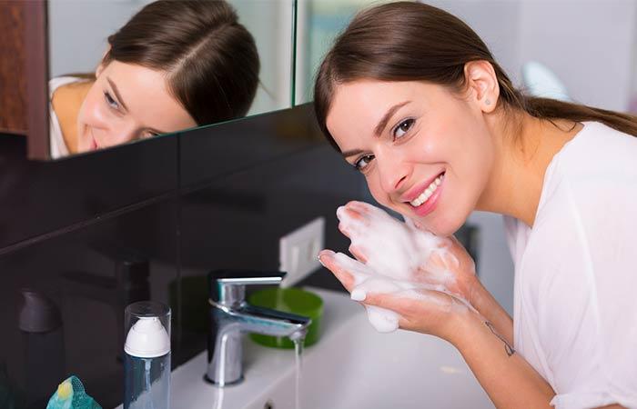 Wash, Exfoliate, And Moisturize
