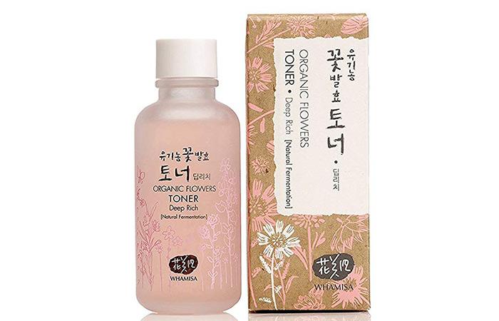 Whamisa Organic Flower Skin Toner