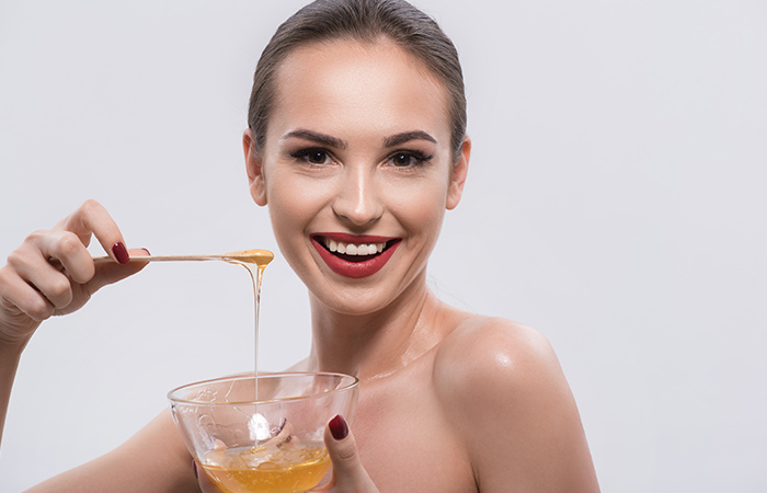 Face cleaning with honey in hindi