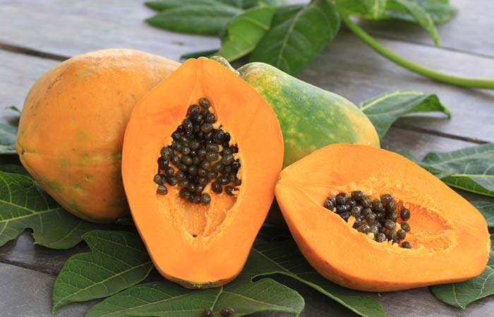Papaya for Skin Pores in Hindi