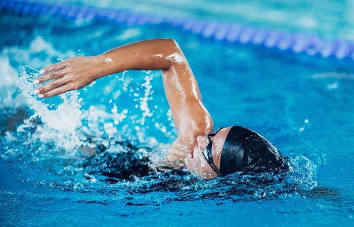 Swimming for High BP in Hindi