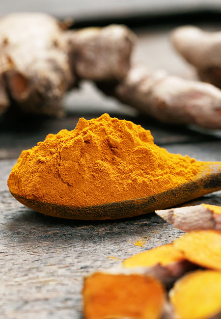 Turmeric for Dark Neck in Hindi