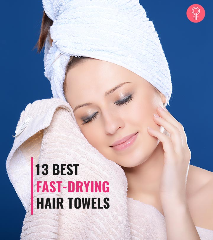 13 Best Fast-Drying Hair Towels
