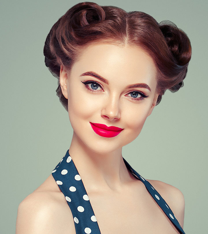 32 Fashionable Pin Up Hairstyles