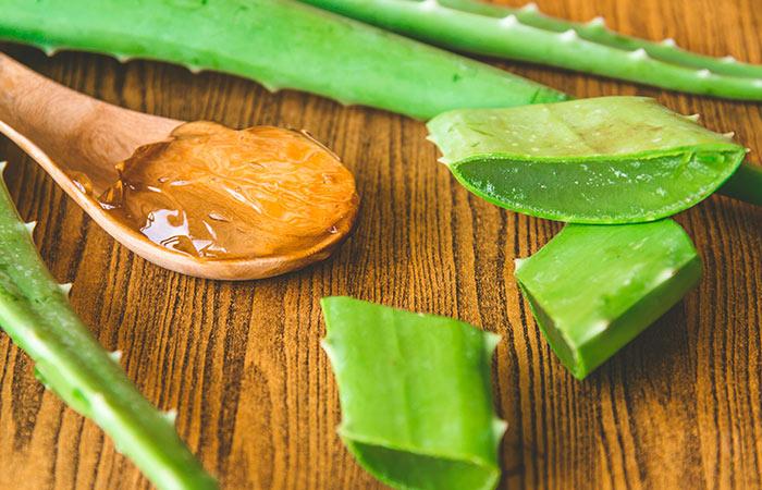 Aloe Vera for Chapped Lips in Hindi