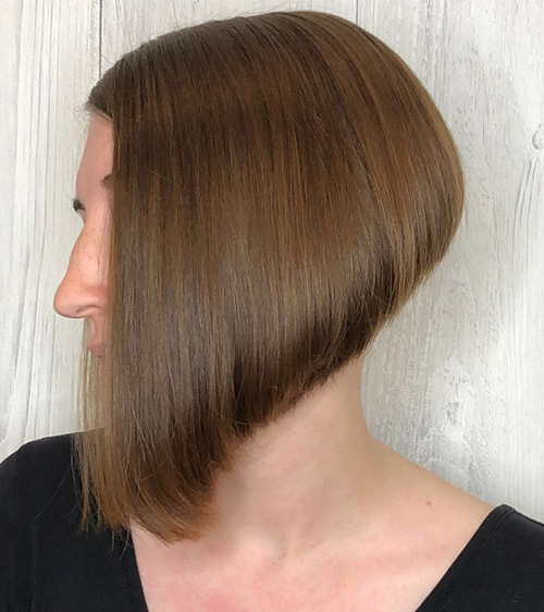 Angled Wedge Cut