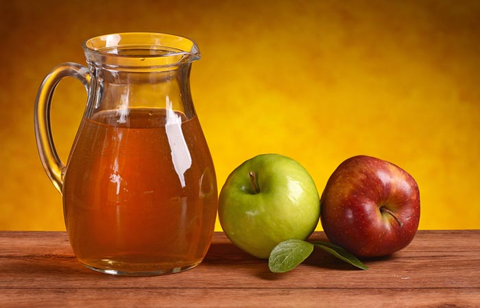 Apple Juice for Dry Scalp in Hindi