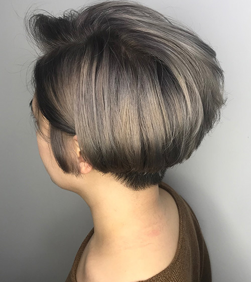 Ashy Wedge Cut