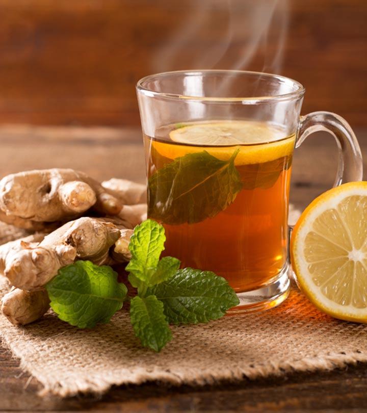 Benefits Of Lemon Ginger Tea in Hindi