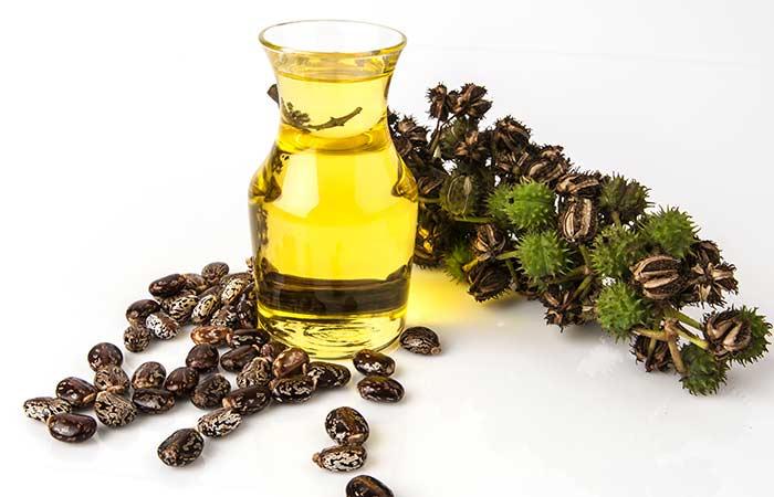 Castor oil for dark underarms