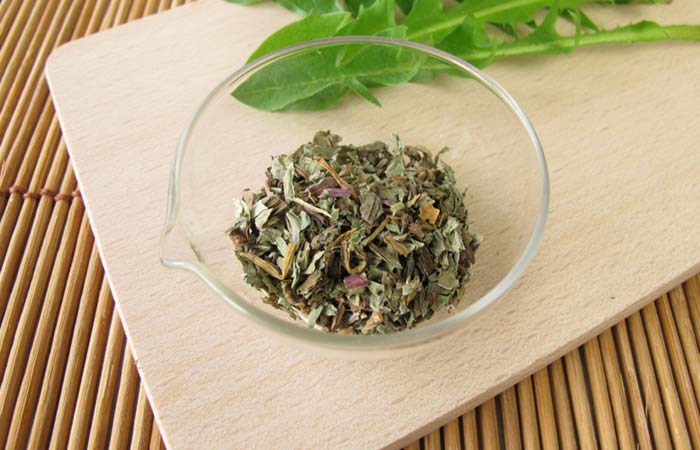Dandelion tea for Ascites in Hindi