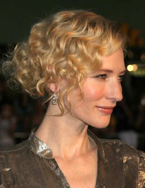 Elegant Curly Updo