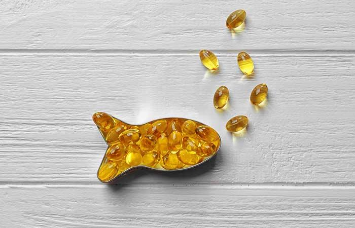 Breast kam karne ke liye Fish oil capsule