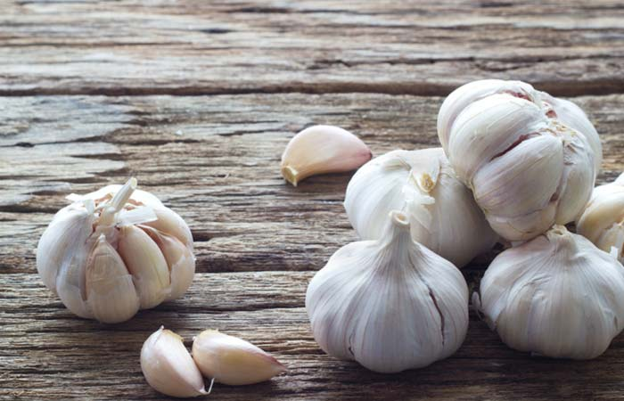 Garlic juice for Ascites in Hindi
