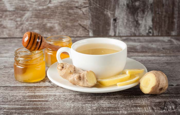 Ginger for Ascites in Hindi