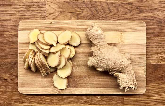 Ginger for Loss Of Smell And Taste in Hindi