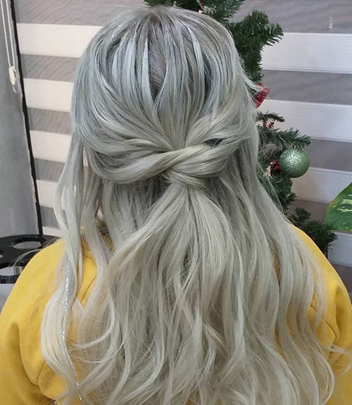 Gray To Blonde Ombre