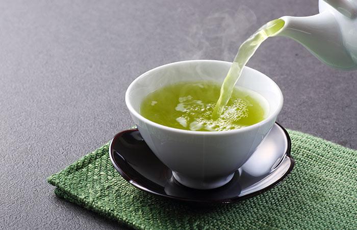 Green tea for Fibroids in Hindi