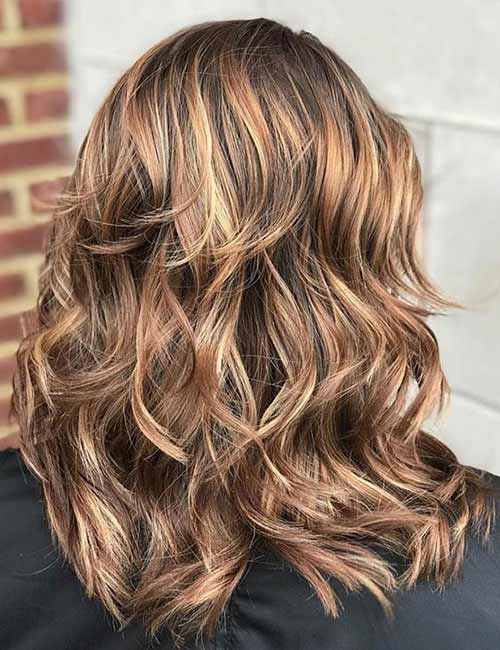 Honey Blonde Layers