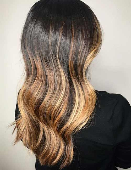 Honey Blonde Ombre