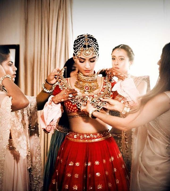 How To Dress Like A Bollywood Bride On Your Wedding