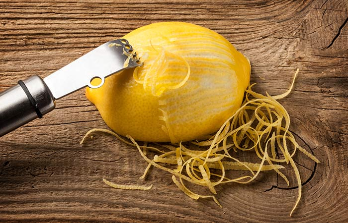 How To Use Lemon Peels For Joint Pains