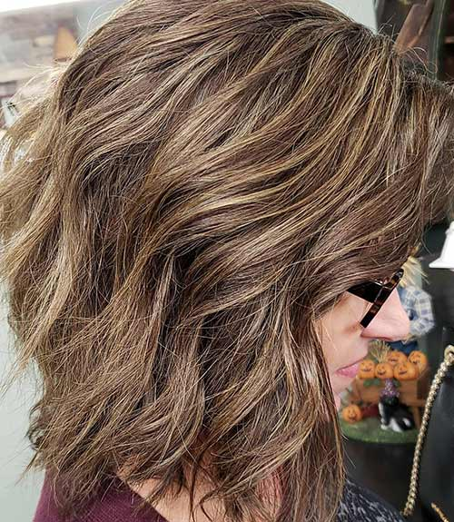Layered Wedge Cut