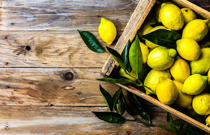 Lemon for Loss Of Smell And Taste in Hindi