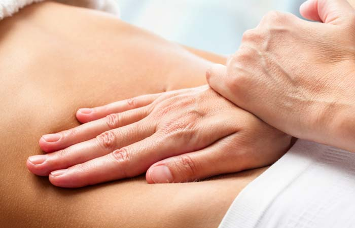 Massage for Ascites in Hindi