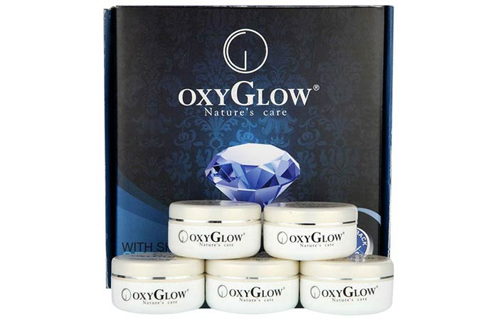 Oxyglow Golden Glow Flawless Diamond Facial Kit