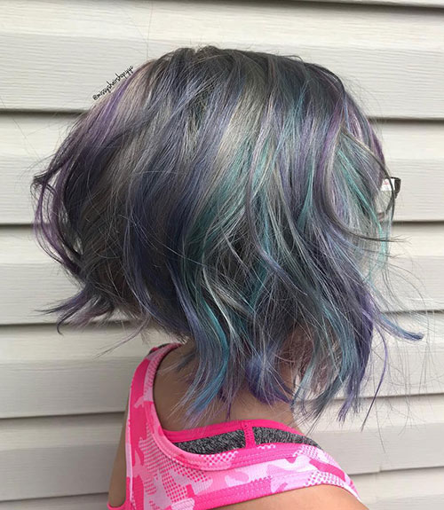Pastel Wedge Cut