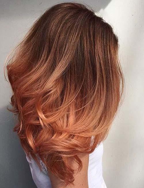 Peach Ombre