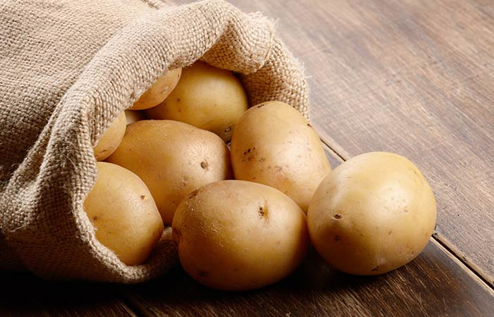 Potatoes for dark underarms