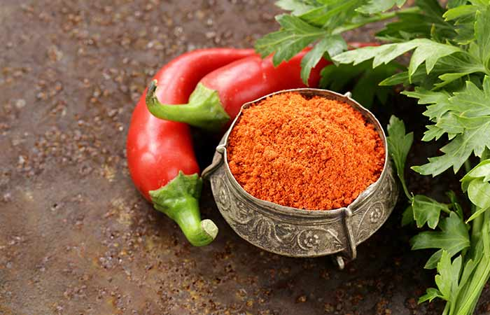 Red Chili for Loss Of Smell And Taste in Hindi