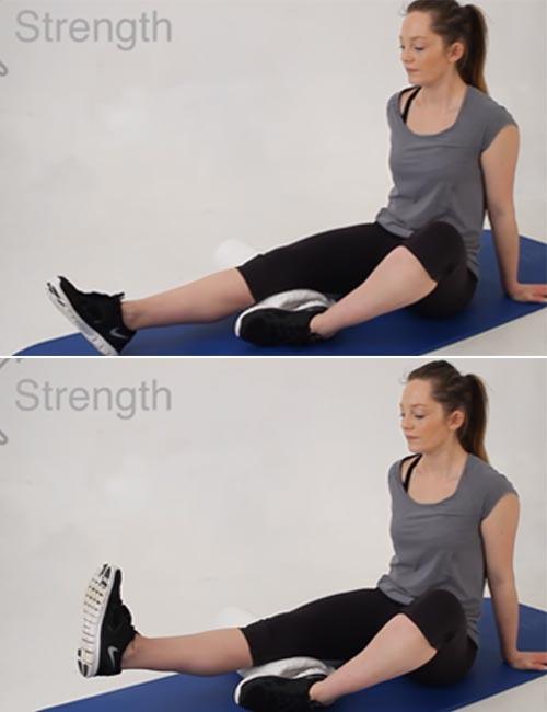 Short Arc Quadricep Exercise