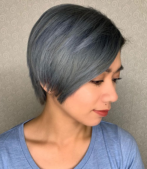 Smoky Blue-Gray